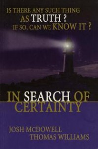 English - In Search Of Certainty