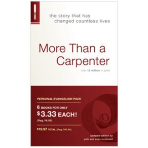 More Than a Carpenter 6-Pack