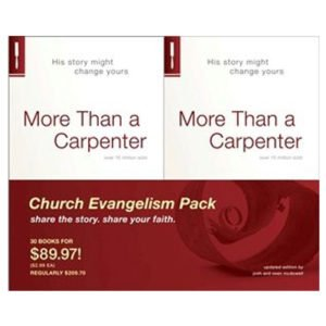 More Than a Carpenter 30 Pack