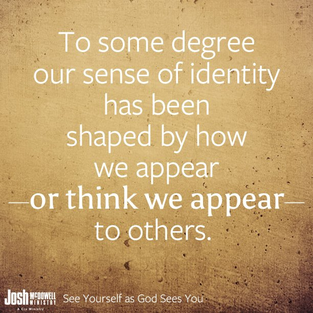 we develop our sense of identity